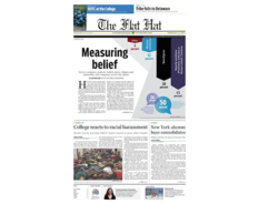 Thumb the flat hat january 23 front page