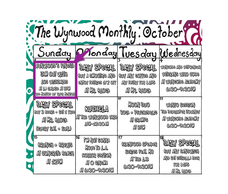 Big full calendar wynwood octoberad