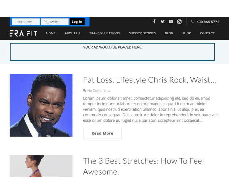 Big eric richard allen miami blog personal trainer advertise