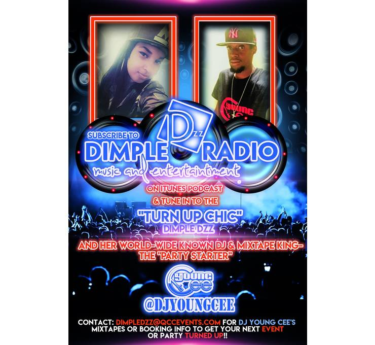 Big dimple 20dzz 20  20dj 20young 20cee 20promo 20flyer