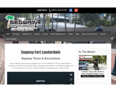 Thumb segway fort lauderdale website homepage
