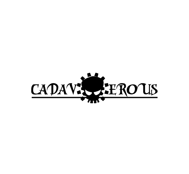 Big cadaverous banner background
