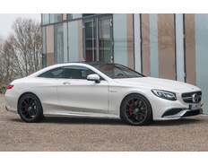 Thumb 2015 mercedes benz s63 amg 4matic coupe side front view